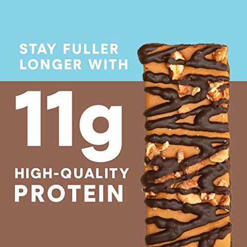 Zone Perfect Protein Bars, 10g of Protein, Nutrition Bars, Salted Caramel Brownie, 5 Bars (Pack of 4)