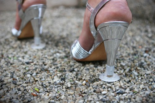 Heels Above 2 Boxes High Heel Protectors- Clear