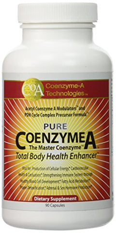 Coenzyme-A Technologies Coenzyme A: 700mg - 90 Capsules