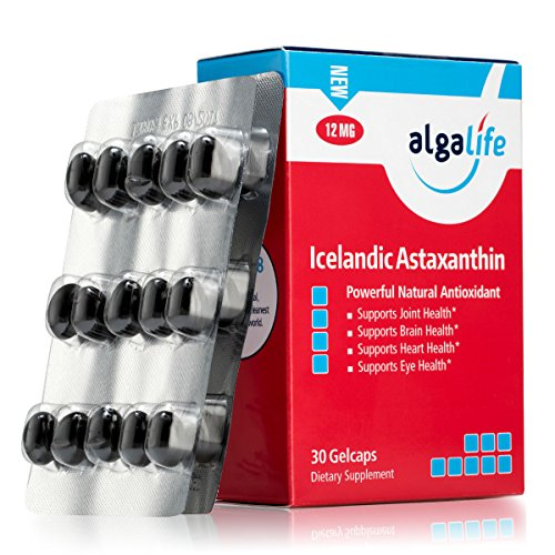 ALGALIFE Astaxanthin Icelandic 12mg, 30 Count