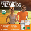 Image of High Potency Vitamin D3 5000 Iu For Immune Support, Healthy Muscle Function & Bone Health, Usda Cert