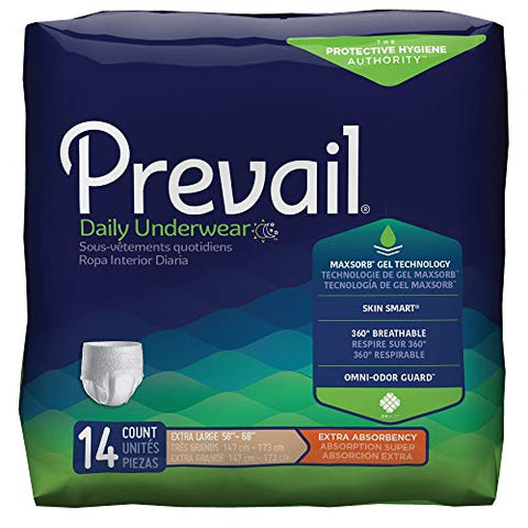First Quality Prevail Underwear, X-Large