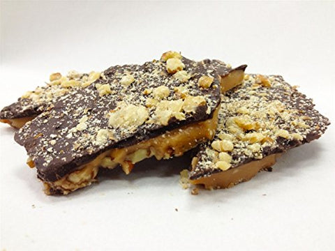 Velatis | Amy's Toffee with Nuts - One Pound Box 11