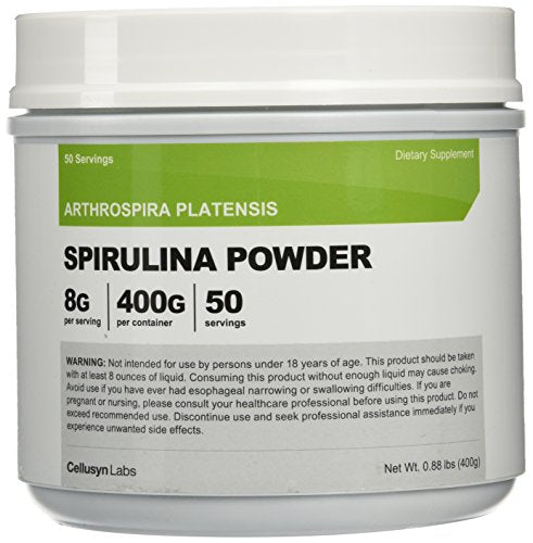 Nutricost Spirulina Powder 454 Grams (1LB) - Pure Spirulina Powder; 8000mg Per Serving, 57 Servings - Highest Quality Spirulina