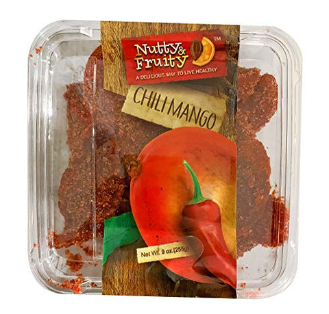 Nutty & Fruity Dried Chili Mango 9 oz. 255g