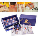 Image of Hansol Professional Cupping Therapy Equipment Set with pumping handle 10 Cups & English Manual (Made in Korea)