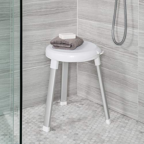 Better Living Products 70090 Swivel Shower Seat, White