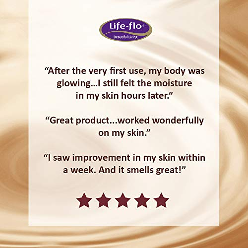 Life Flo Pure Organic Cocoa Butter | Face & Body Moisturizer For Dry Skin & Scalp, Heels, Elbows, St
