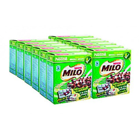 Breakfast Nestle Cereal Milo 25 G. Pack 12