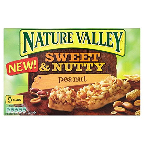 Nature Valley Chewy Sweet & Nutty Bars - Almond (5x30g)