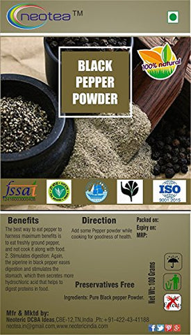 Neotea Black Pepper Powder (500g)