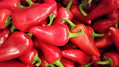 Fresh Red Fresno & Fresh Jalapenos Chile Peppers