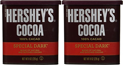 Hershey's Special Dark Cocoa Can - 8 oz - 2 pk
