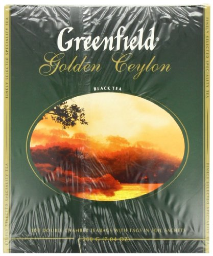 Greenfield Golden Ceylon ð¡Lassic Collection Black Tea Finely Selected Speciality Tea 100 Double Cha