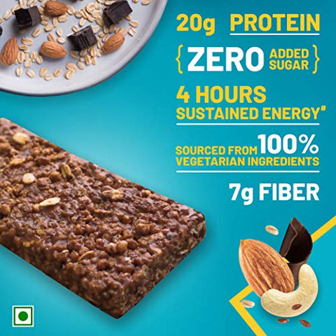 RiteBite Max Protein Bar 67G  (Chocoslim, Pack Of 6) Brown