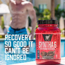Image of BSN SYNTHA-6 Whey Protein Powder, Micellar Casein, Milk Protein Isolate, Strawberry Milkshake, 28 Servings (Packaging May Vary)