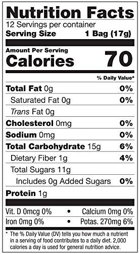 Brothers-ALL-Natural Fruit Crisps, Banana, 0.59 oz (Pack of 24)