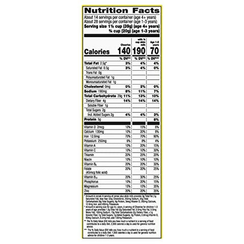 Cheerios, Cereal with Whole Grain Oats, Gluten Free, 20 oz (Pack of 10)