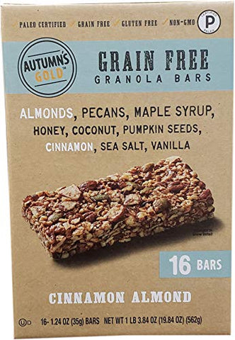 Autumns's Gold Grain Free Cinnamon Almond (16Count/1.24 oz), 19.84 oz