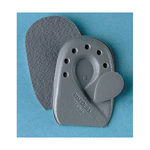 SoftPoint Viscolas Heel Spur Cushions. A. Small. Grey