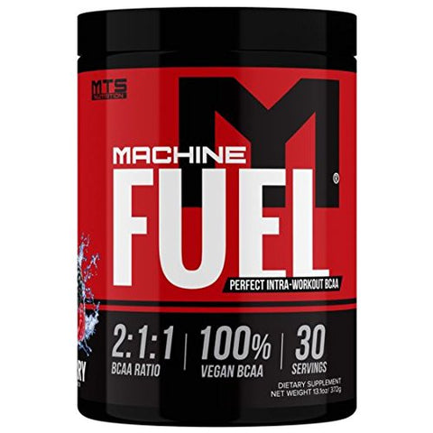 MTS Nutrition Machine Fuel - Recover Replenish Refuel - Vegan Hydration Supplement - Mixed Berry - 30 Serving