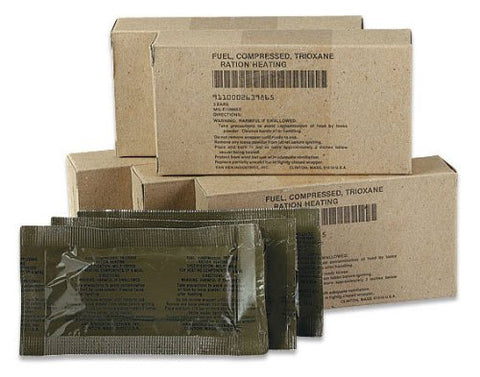 U.S Military Trioxane Fuel Bars - 3 pack