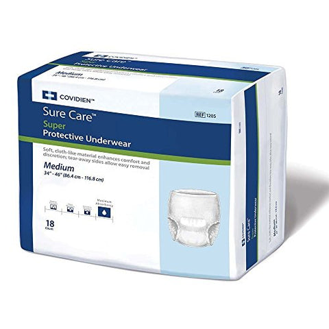 Surecare Protective Underwear Super Absorbency/34 to 36