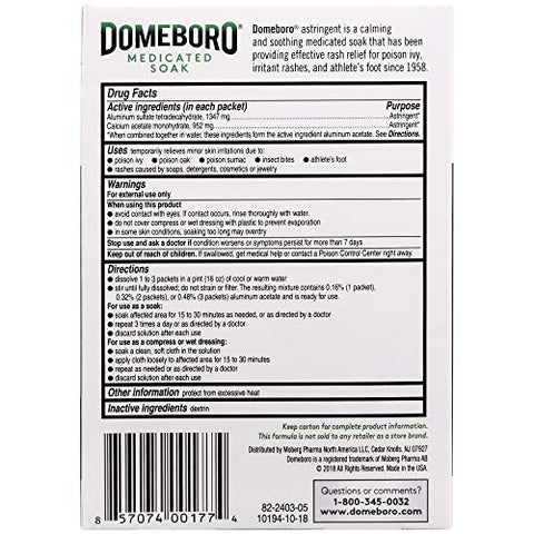 DOMEBORO POWDER PACKETTE 12EA BAYER CORPORATION