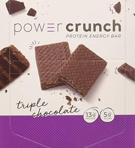 Power Crunch Protein Energy Bar, Triple Chocolate, 1.40 Ounce