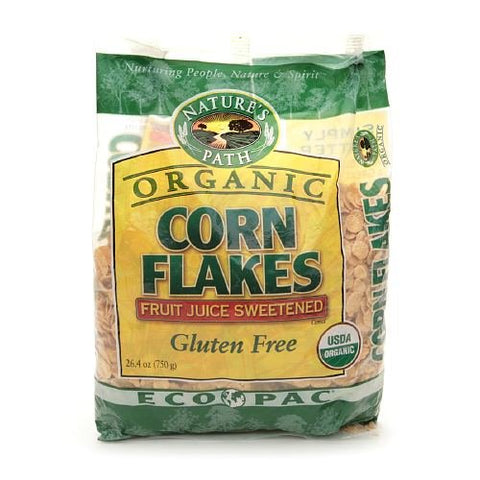 Nature's Path Organic Cereal, Corn Flakes 26.4 oz (Pack Of 6)