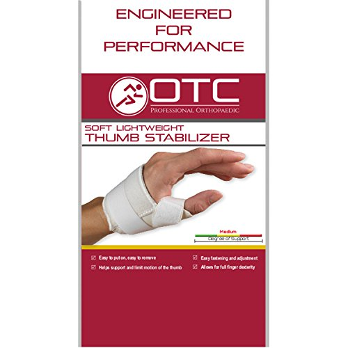 OTC Thumb Immobilizer, Soft Lightweight Duty, Small (Left Hand)