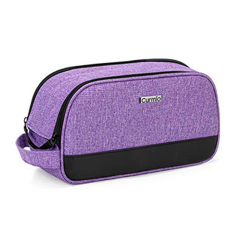 CURMIO Travel Carrying Bag Compatible for ResMed AirMini CPAP Machine and Accessories, Small Travel CPAP Equipment and Supplies Organizer Case, Bag Only, Purple (Patented Design)