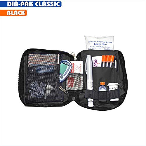 Medicool Dia Pak Classic Diabetic Organizer For Two Week Supply With Large Gel Pack | Dp Clas/Bk