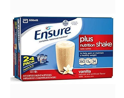 Ensure High Protein, Homemade Vanilla Shake, Nutritional Drink, 8 Fluid Ounce Bottles (Pack of 24)
