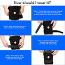 Image of Nvorliy Plus Size Knee Brace XL 2XL Extra Large Open-Patella Stabilizer Breathable Neoprene Support for Arthritis, Acl, Running, Pain Relief, Meniscus Tear, Post-Surgery Recovery, Fit Men and Women