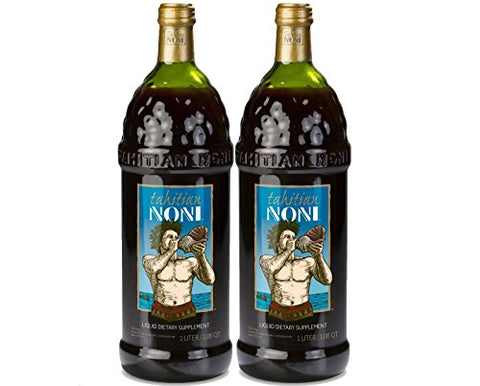 TAHITIAN NONI Juice by Morinda 2PK Case (Two 1 Liter Bottles per Case)