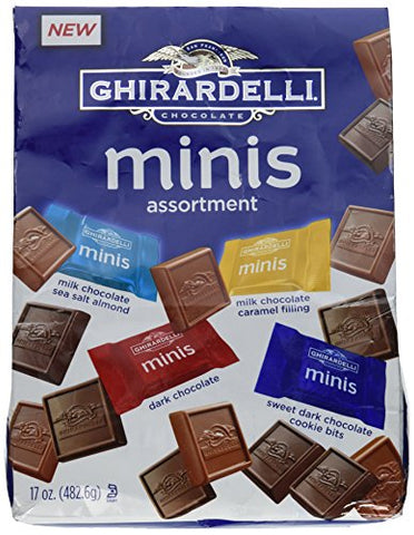 Ghirardelli Chocolate Minis Assortment 17 Ounce Bag