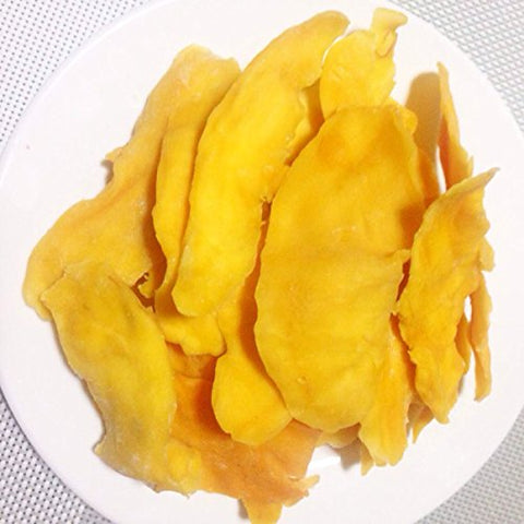 3 Pound (1362 grams) Dried peeled mango slices Grade A from Yunnan