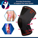 Image of Arthritis Hope Knee Brace (L)   Knee Compression Sleeve For Knee Pain, Running, Weightlifting, Arthri