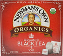 Image of Newman's Own Organics Black Tea, 100 Individually Wrapped Tea Bags (Pack Of 5)
