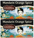 Image of Celestial Seasonings Mandarin Orange Spice Tea Bags, 20 ct, 2 pk