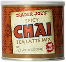 Image of Trader Joe's Spicy Chai Latte 10 oz (2 pack)