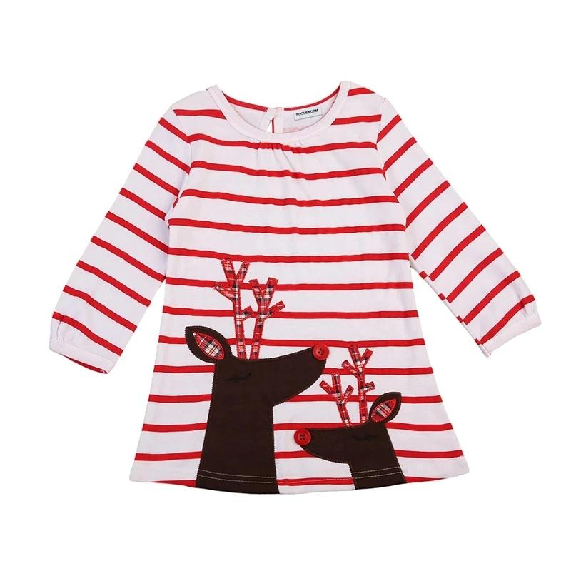 Rudolph Applique Tunic Top (sizes 2-5/6)