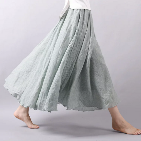 Meredith Women's Full Skirt *SEA GREEN*