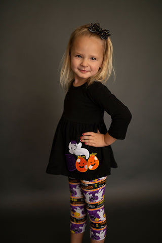 Boo! Knit Tunic and Leggings set