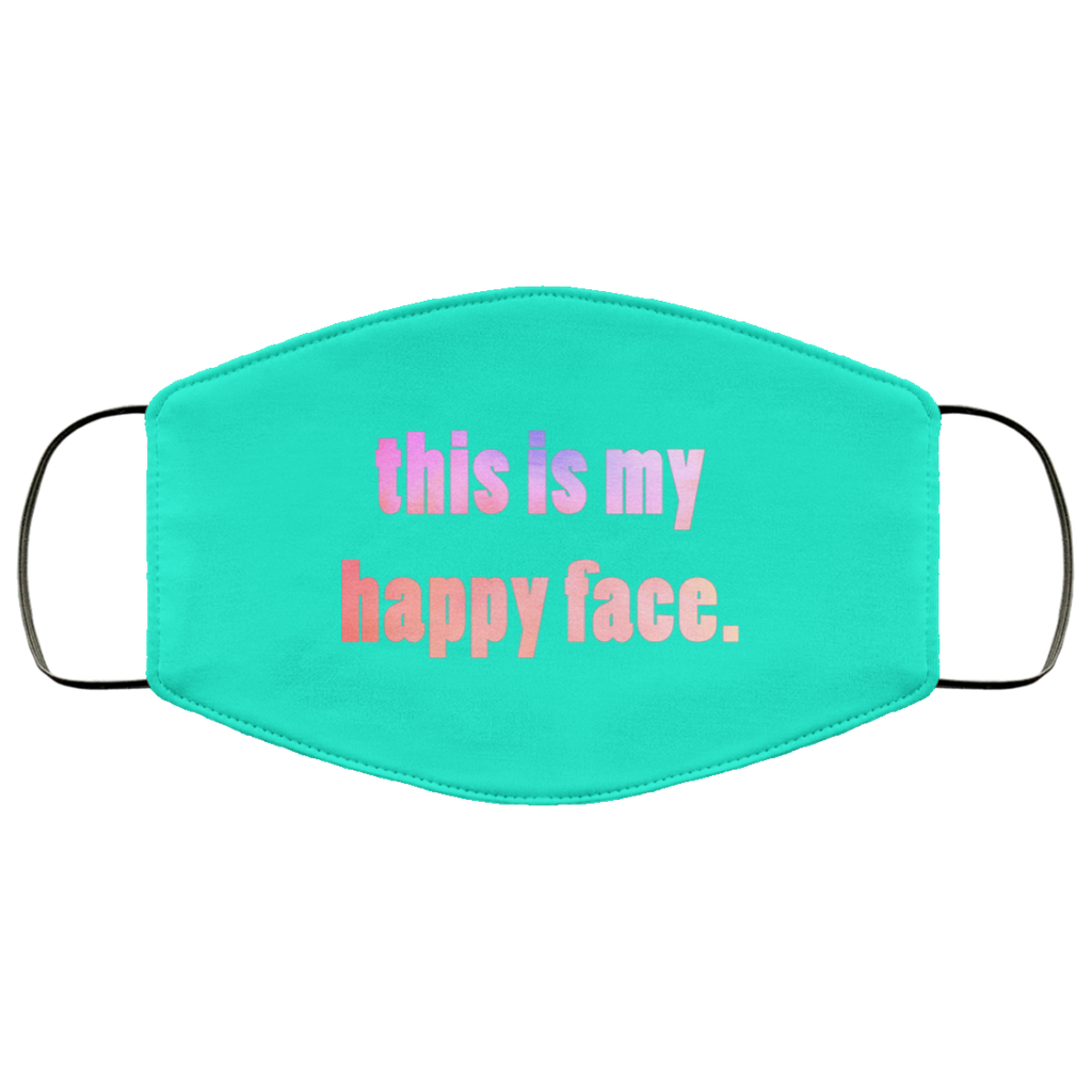 This is My Happy Face Mask Available in 4 Colors