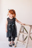 Bella Black Sparkle Tunic with FREE Kitty Ear Headband - Hazelmoonfly - 1