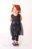 Bella Black Sparkle Tunic with FREE Kitty Ear Headband - Hazelmoonfly - 2