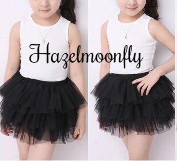 Bella Black TUTU Skirt