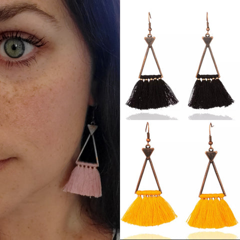 Dainty Fringe Earrings